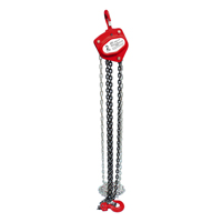 Power Pull 400 Chain Block, 2 ton, 5/16 in Cable Dia, Steel