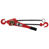 Power Pull 600 Heat Treated Chain Puller, 1-1/2 ton, 5/16 in Cable Dia, Steel