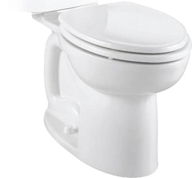 Cadet 3 Flowise Right Height Elongated Toilet Bowl Only, White