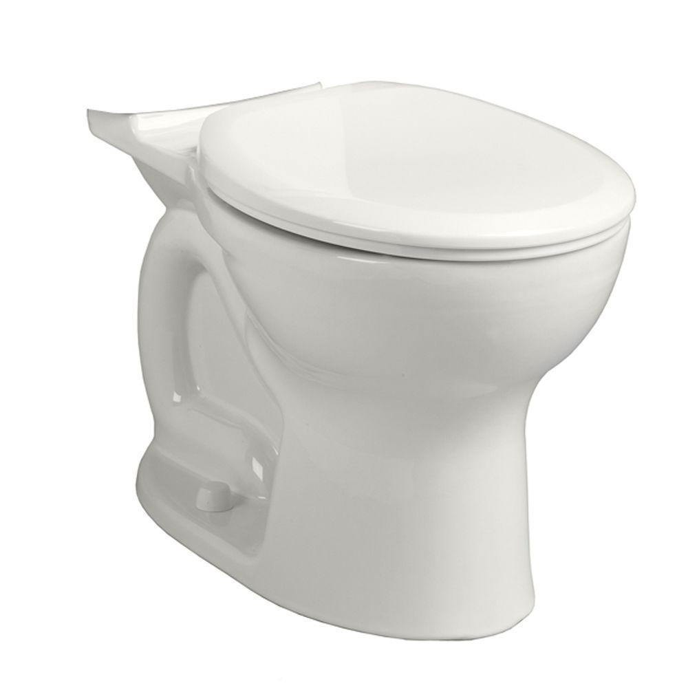 PRO Round Front Bowl Cadet 1.28/1.6 Gallons Per Flush