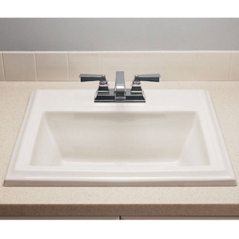 23-1/8X18-3/4 Three Hole Lavatory Townsquare White