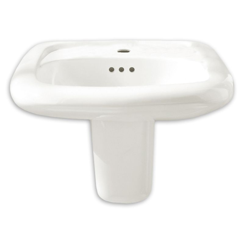 20-1/2X21-1/4 WM Lavatory SINK White