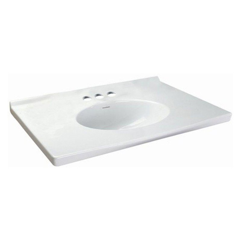 34X26 Vanity Top Portsmouth Fireclay White