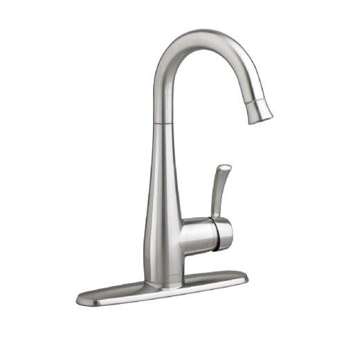 California Energy Commission Not Registered Lead Law Compliant 1 Handle Lever PD Bar Faucet Stainless Steel 2.2