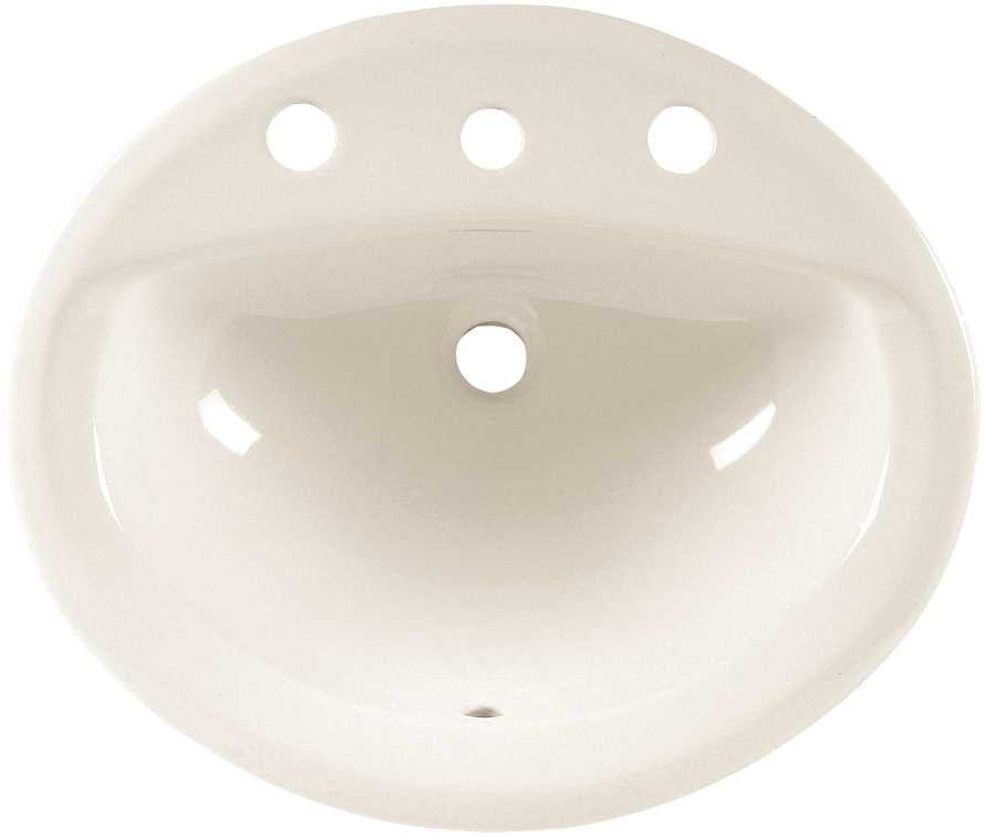20 X 17 8 Self-Rimming ADA Vitreous China Lavatory Aqualy White