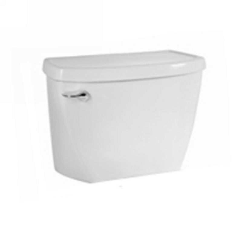 1.1 Gallons Per Flush 2 Polished Chrome Closet Tank White