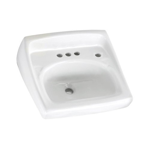 20 X 18 Vitreous China 4 WM Lavatory Lucern White