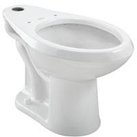 California Energy Commission Registered 1.1/1.6 Gallons Per Flush ADA Elongated Bowl Madera White