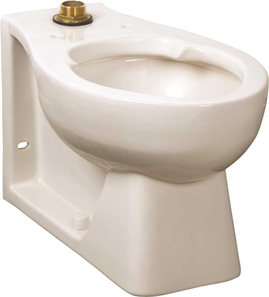 1.28/1.6 Gallons Per Flush High Efficiency Toilet Elongated Bowl Huron White