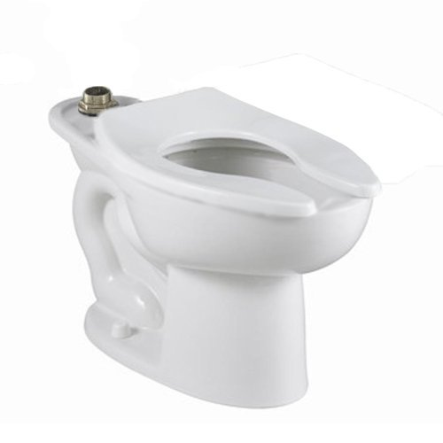1.1/1.6 Gallons Per Flush 16-1/2 Elongated Bowl Top Spud White