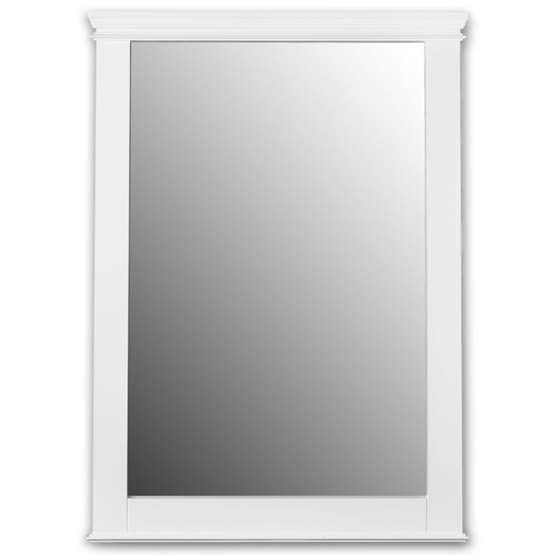 28X37 Mirror Portsmouth White