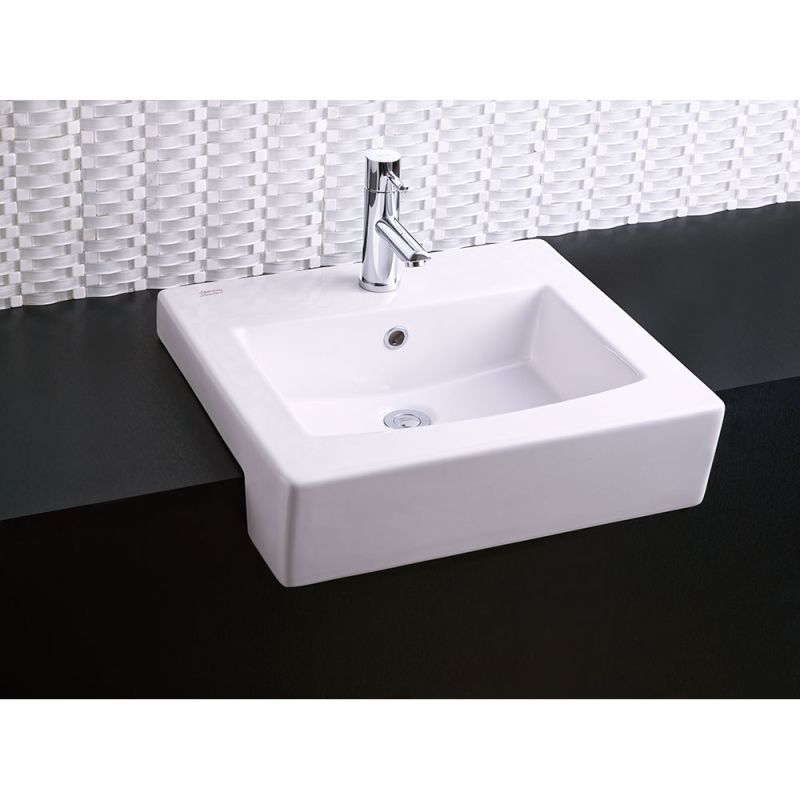 19 X 17 Lavatory Semi Countertop Center Hole Only