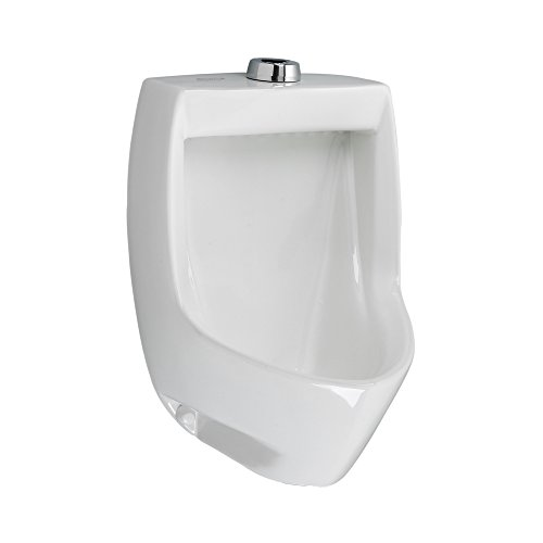 California Energy Commission Registered 0.125/1.0 Gallons Per Flush Universal WSO Urinal White