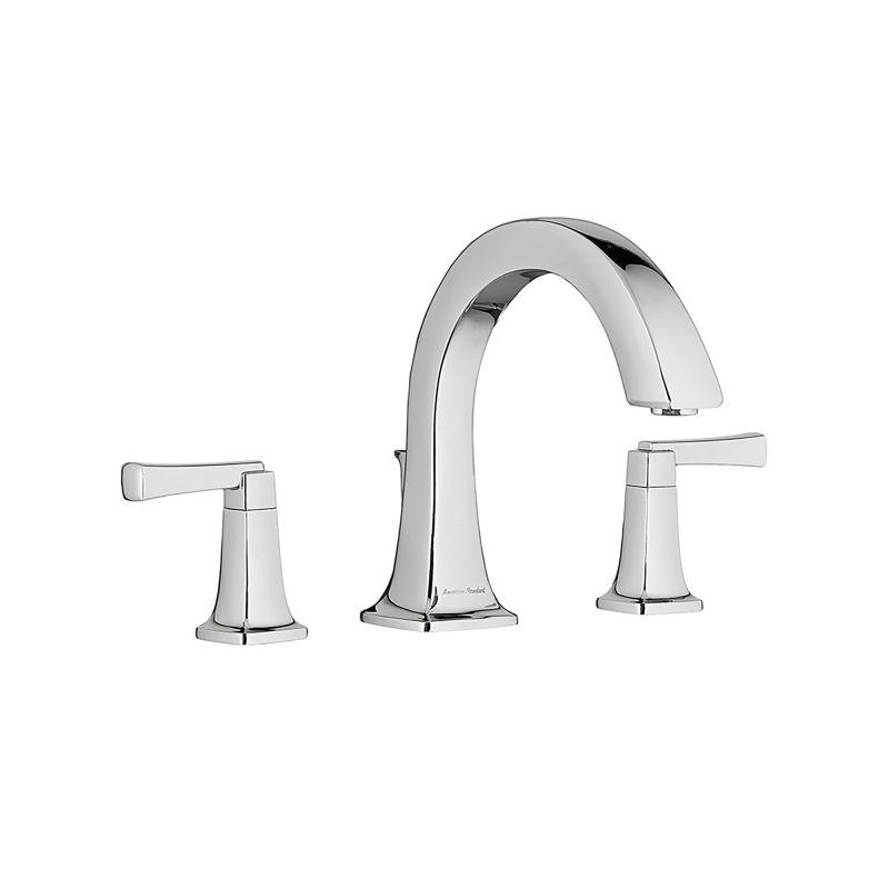 2 Handle Lever TSTC Tub Faucet Chrome