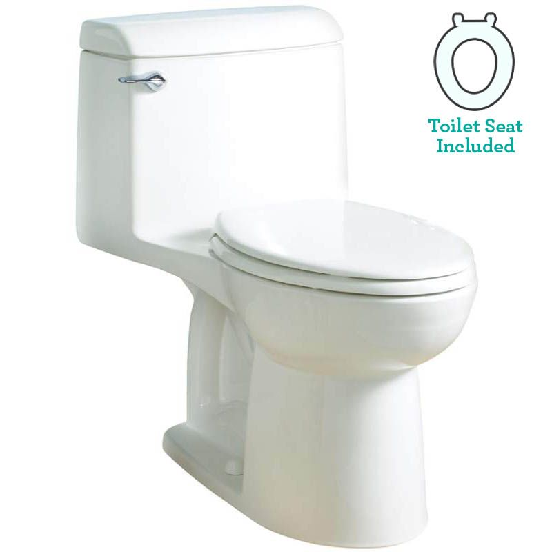 California Energy Commission Registered 1.6 Gallons Per Flush ADA Elongated Bowl 1 Piece Closet White