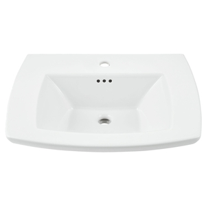 EDGEMERE SINK TOP CHO - WHT