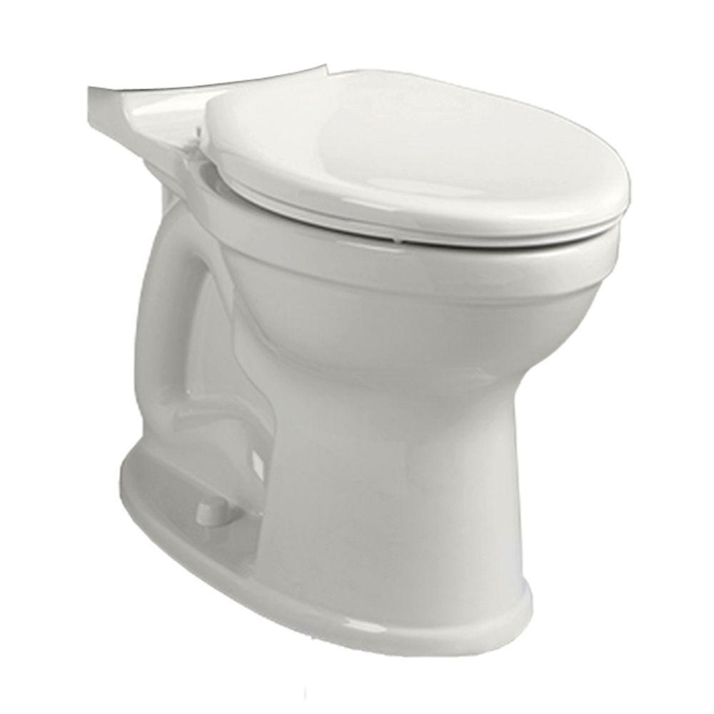 AMERICAN STANDARD CHAMPION� PRO� RIGHT HEIGHT� ELONGATED BOWL, WHITE