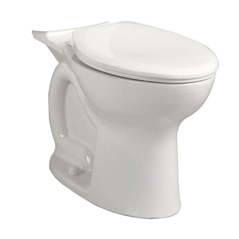 AMERICAN STANDARD CADET� PRO� RIGHT HEIGHT� ELONGATED BOWL, WHITE