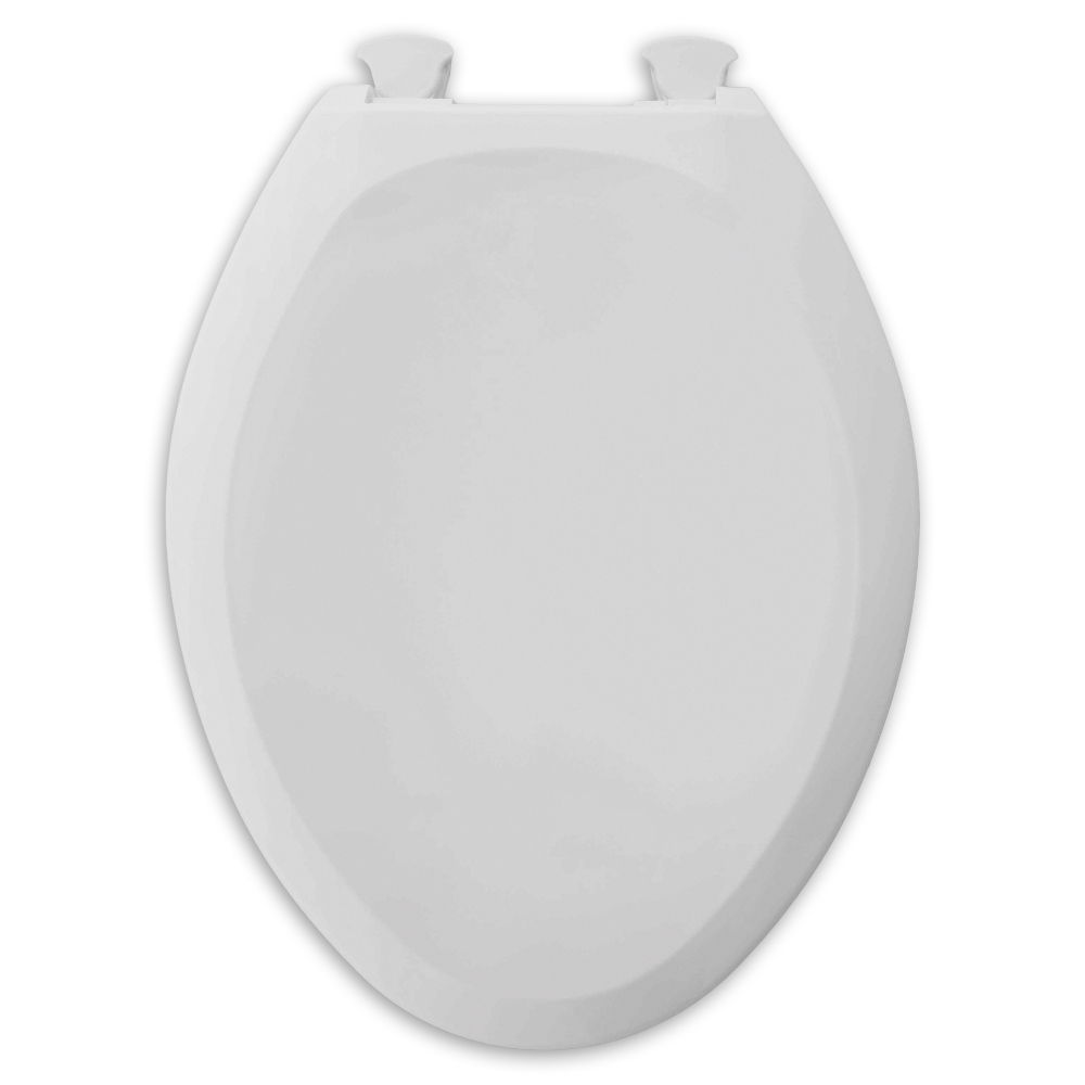 AMERICAN STANDARD CHAMPION� SLOW CLOSE, ROUND FRONT TOILET SEAT, WHITE