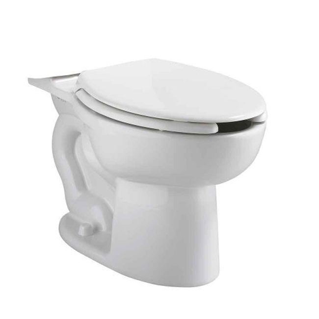 CADET PRESSURE ASSISTED TOILET BOWL ONLY, 1.6 GPF, WHITE