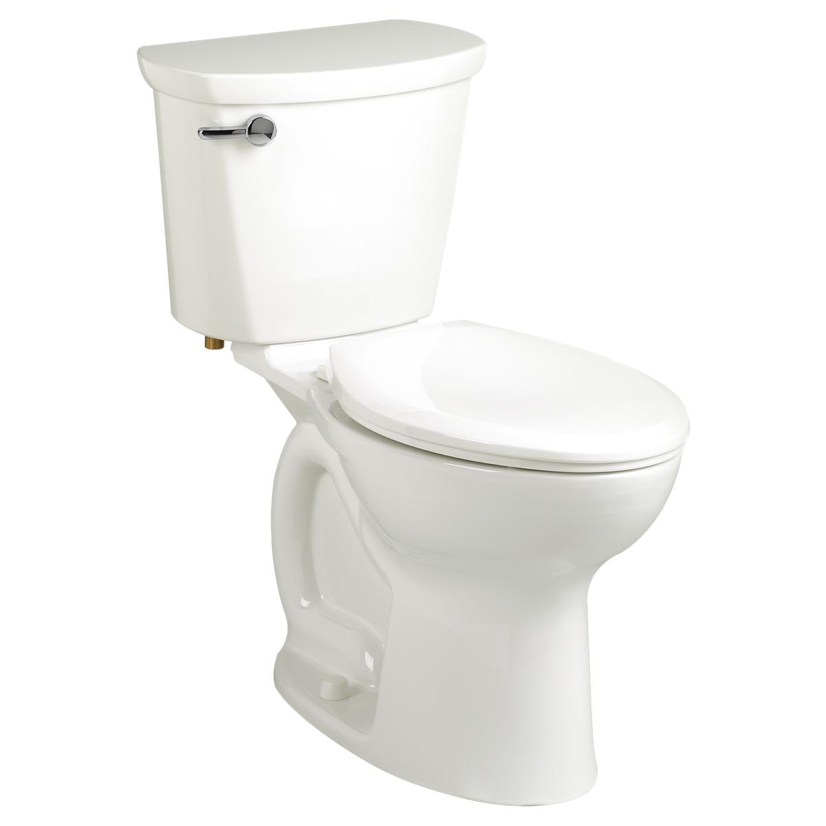 CADET PRO RIGHT HEIGHT TOILET TANK, 10 IN. ROUGH-IN, 1.6 GPF, RIGHT-HAND LEVER, WHITE