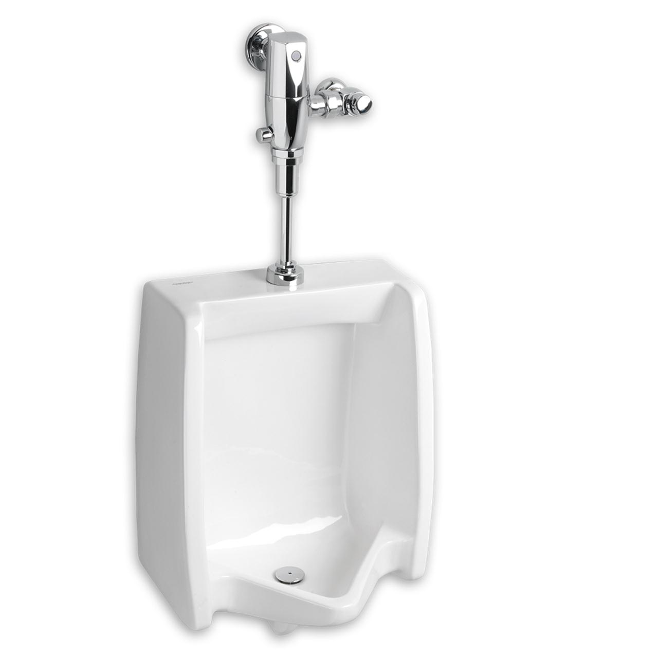 WASHBROOK FLOWISE WASHOUT BACK SPUD URINAL, 0.125 TO 1.0 GPF, WHITE
