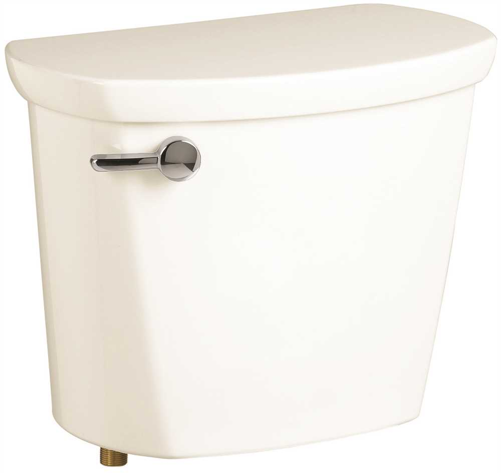 CADET PRO TOILET TANK, WITH RIGHT-HAND LEVER, WHITE