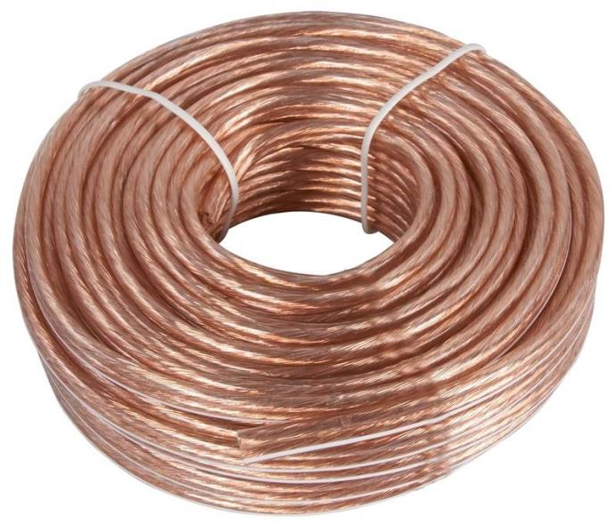 Zenith AS105018C Speaker Wire, 18/2, 50 ft
