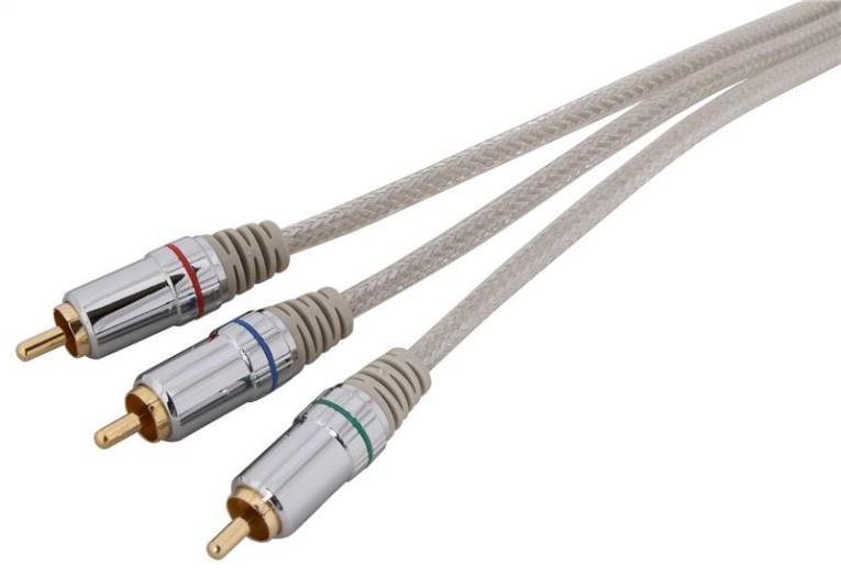 AmerTac Zenith VC3012COMPON Component Premium Video Cable, 12 ft