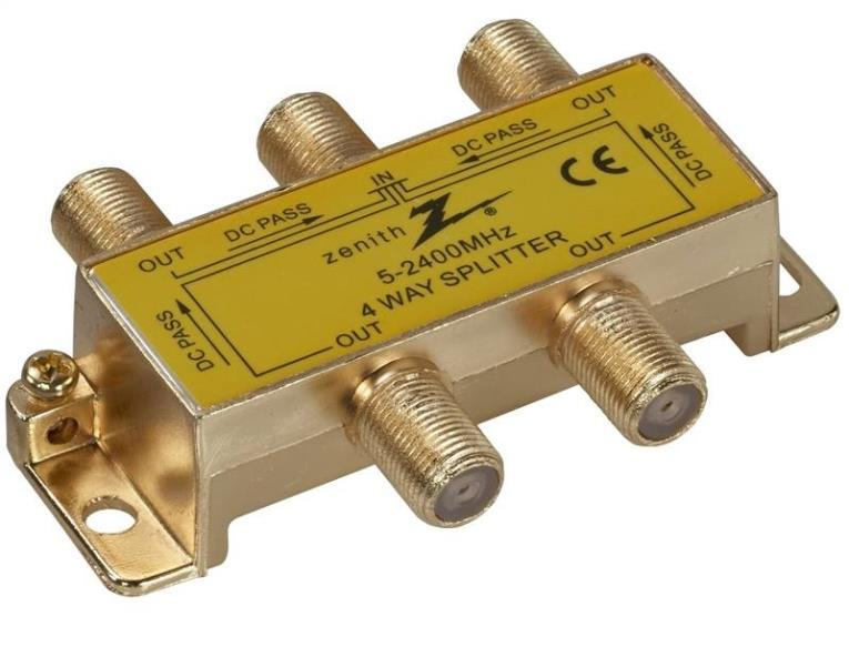 SPLITTER SIGNAL DIG 4WY 2400MH