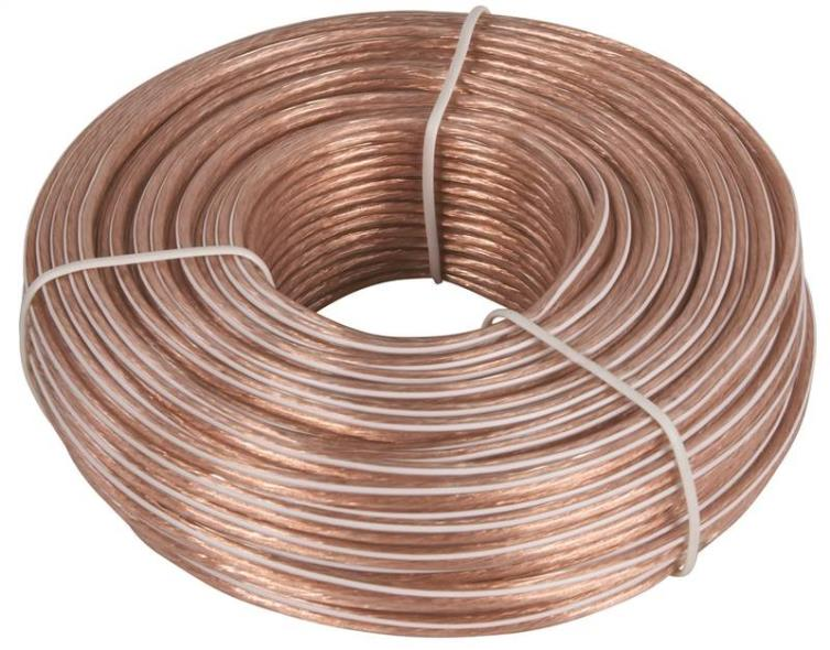 Zenith AS110024C Speaker Wire, 24/2, 100 ft