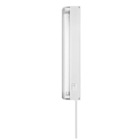 AmerTac FA413HBWCC ON-OFF Switch Slim Undercabinet Lighting, 120 V, T5, Fluorescent