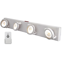 TRACK LIGHT LED W/REMOTE WHITE