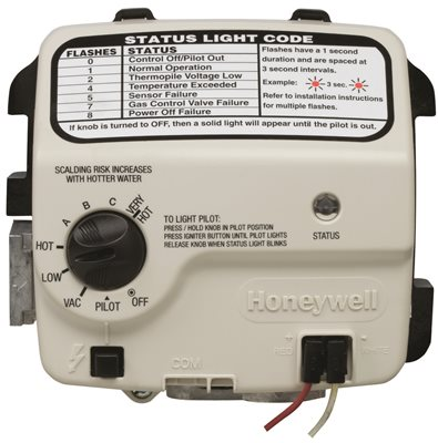 HONEYWELL REPLACEMENT GAS VALVE NATURAL GAS 1 IN. INSULATION