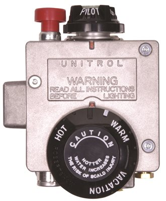 AMERICAN� 40- TO 50-GALLON ULTRA-LOW NOX NATURAL GAS WATER HEATER THERMOSTAT, FITS MODELS WITH 1-INCH INSULATION