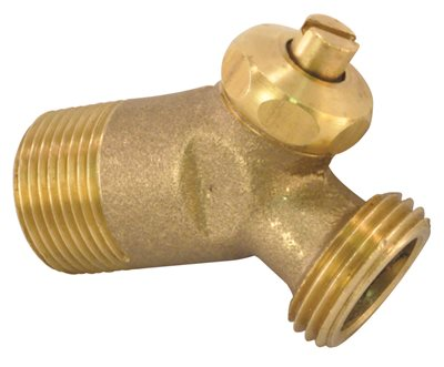 "BRASS WATER HEATER DRAIN VALVE 2"" INSULATION MODEL THICK"
