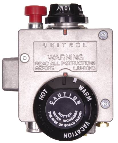 AMERICAN� 30-GALLON ULTRA-LOW NOX NATURAL GAS WATER HEATER THERMOSTAT, FITS MODELS WITH 1-INCH INSULATION