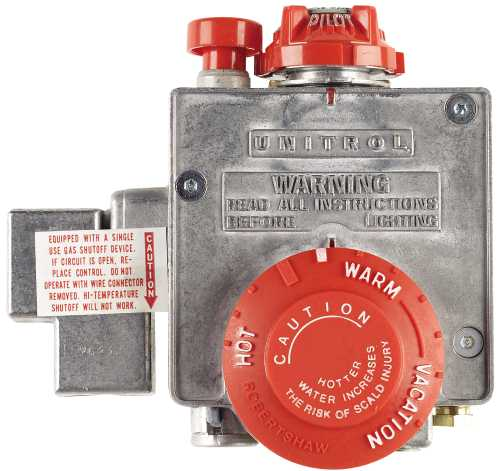American Water Heater AMERICAN® LIQUID PROPANE WATER HEATER THERMOSTAT, UP TO 50 GALLONS per EA