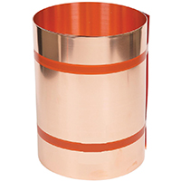 Amerimax 67514 Valley Flashing, 14 in W x 25 ft L, 16 oz Copper