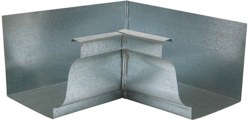 Amerimax 29201 Gutter Inside Miter, For Use With 5 in K Style Gutter System