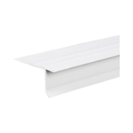 EDGE DRIP F4-1/2 VNYL WHT 10FT