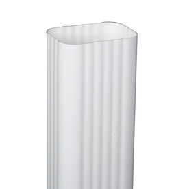 DOWNSPOUT TRDNL WHT 3X4INX10FT