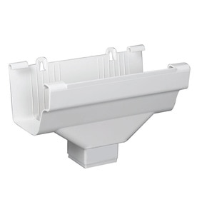 OUTLET END TRDNL WHITE 3INX4IN