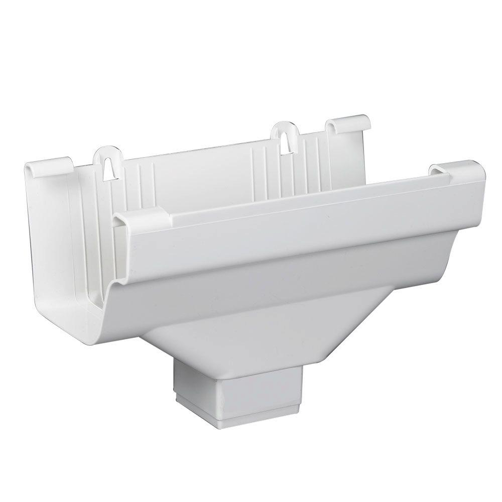 OUTLET END TRDNL WHITE 2INX3IN