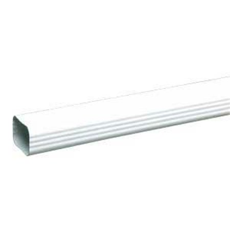 DOWNSPOUT TRDNL WHT 2X3INX10FT