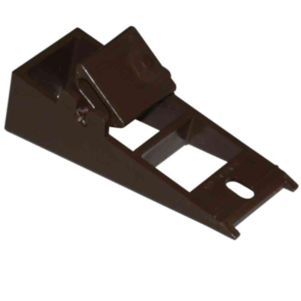 FIXER FASCIA GUTTER VNYL BROWN