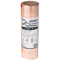 Amerimax 850678 Valley Flashing, 8 in W x 20 ft L, 3 oz Copper