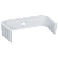 BAND DOWNSPOUT VINYL WHT 3X4IN