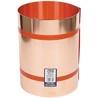Amerimax 67320 Valley Flashing, 20 in W x 10 ft L x 0.021 in T, 16 oz Copper