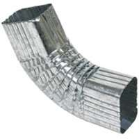 ELBOW GUTTER SQ COR 28GA 2X3IN